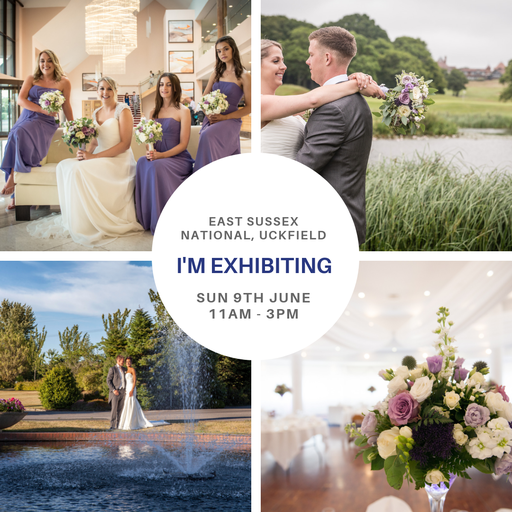 East Sussex National Wedding Show Sunday 9th June 2019